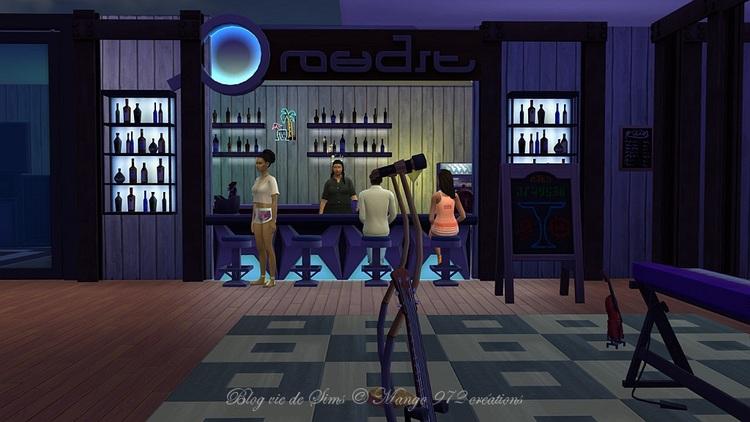 Bar Café Karaoké le Karaoké Kaffé  #sims4