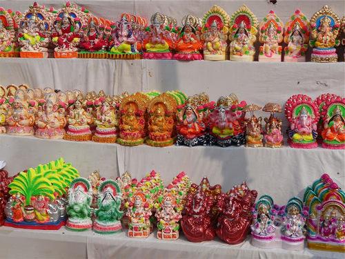 commerce de rue à Bodhgaya