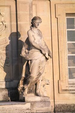 La facade sidérale du chateau de Versailles