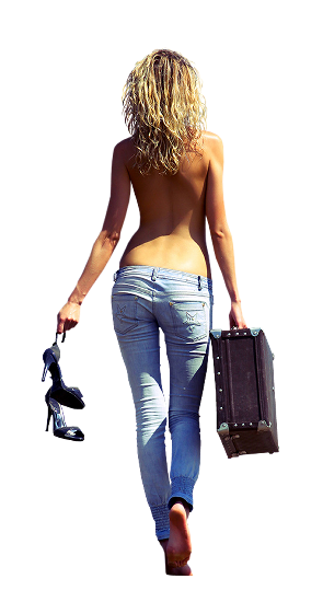 Femmes de dos