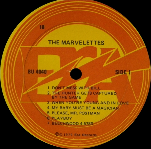 "The Marvelettes : Album "" The Best Of The Marvelettes "" Era Records BU 400 [ US ]"
