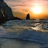 le romantisme d'un coucher de soleil