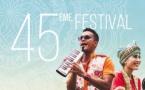 45ème festival, le programme...