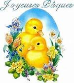 bon mois d;avril et joyeuse paques