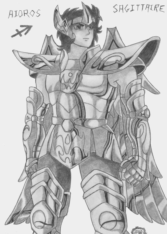 manga les chevalier du zodiaque - aioros