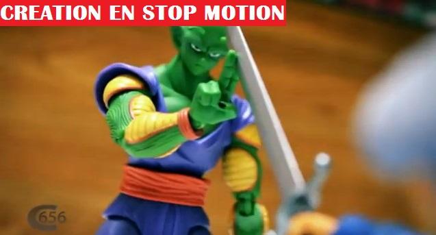 Il realise un episode de dragon ball z en stop motion avec des jouets