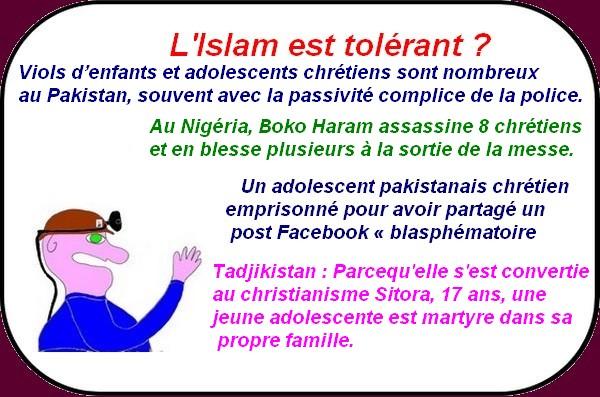 L'islam tolérant ? Montebourg lâché ? les médias, etc.. ce sont les infos oubliées du vendredi.