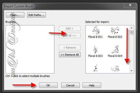 ABR brush hozzáadása Corel PSP X7 -hez