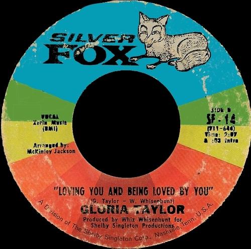 "Gloria Ann Taylor : CD "" Love Is A Hurtin' Thing : The Singles 1968-1973 "" Soul Bag Records DP 05 [ FR ]"