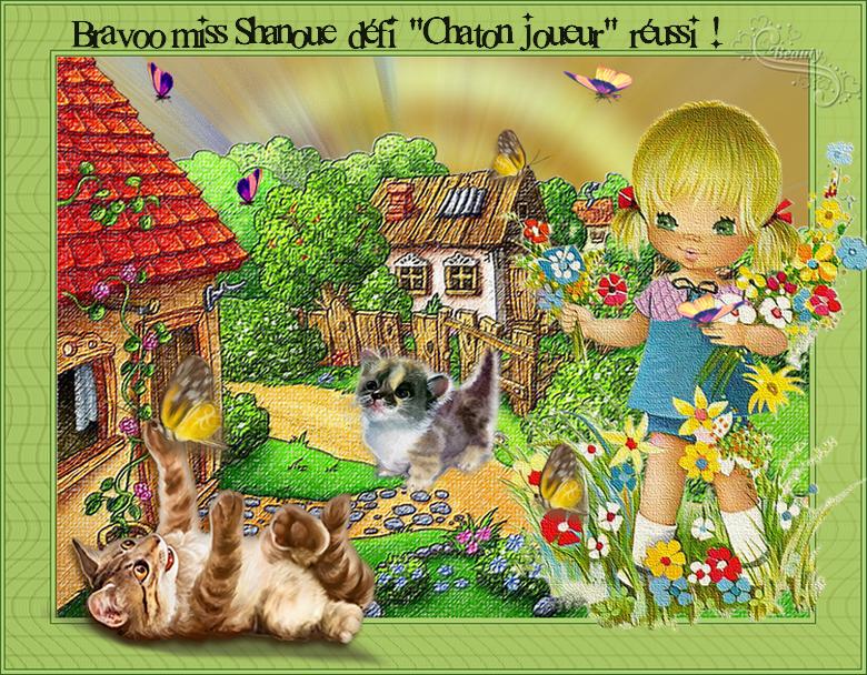 """Dédi """"Chat joueur"""". 16 participants(tes) Ta récompense ma Shanoue: ICI *"""
