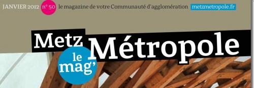 Metz Métropole adopte en 2012 un budget de maturité !