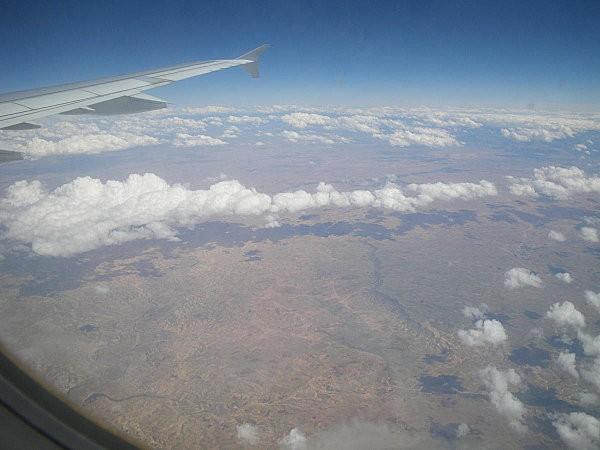 Vol Boa Vista-Paris au dessus le Maroc