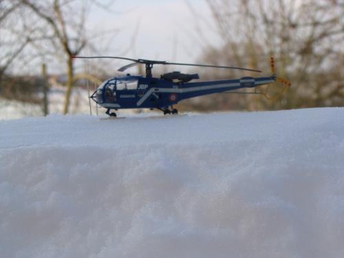 SA 319B Alouette III Gendarmerie JBP