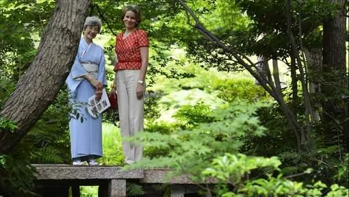 Mathilde et Philippe au Japon