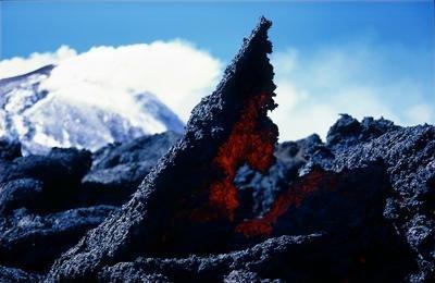 Etna de glace et de feu