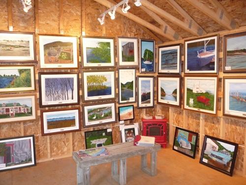 Atelier/Galerie/Boutique dans Charlevoix