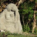 Les sculptures (1) - A l'entrée du site