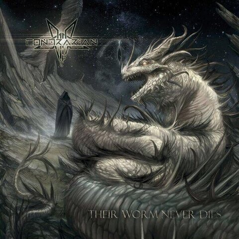 """CONTRARIAN - """"Whomsoever Worships The Whiteworm"""" Lyric Vidéo"""