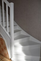 Rajeunissement de l'escalier...