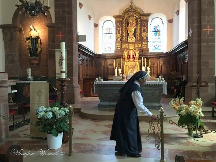 Mont Sainte-Odile : La basilique