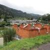 elévation des murs en briques 014