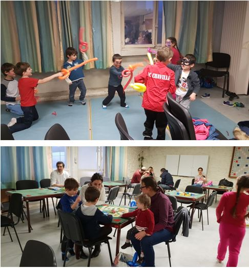 Un bel après-midi à l'école des Iris/Fougères !