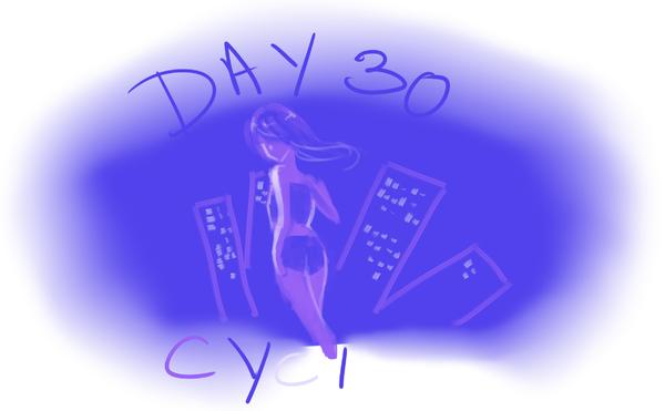Défi palette de couleur [Patie 3] jour 30