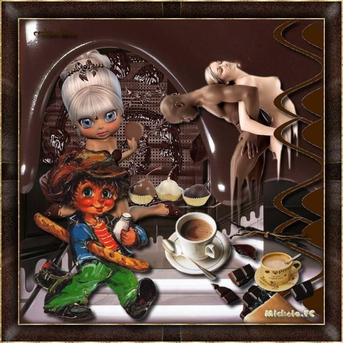 Le chocolat chez Cerise Déco  cluster