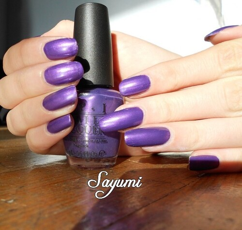 OPI - Purple with a purpose