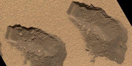 Du carbone sur Mars