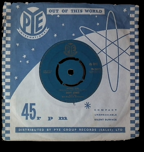 1961 : Single SP Pye Records 7N.25072 [ UK ]