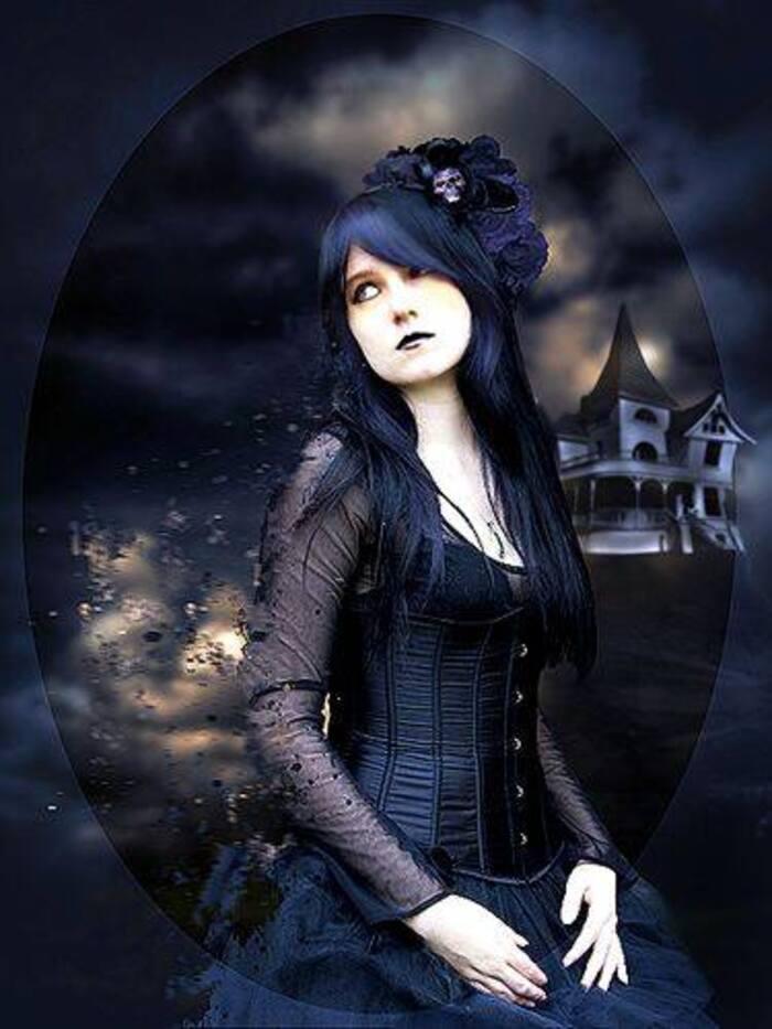 Dames goths romantiques
