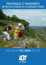 Promenades et Randonnées - En pays de la Vallée de la Dordogne lotoise