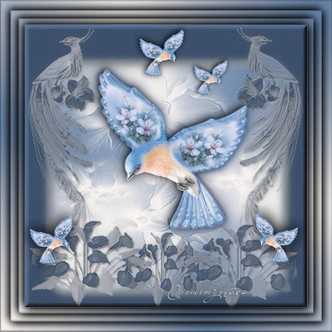 l'oiseau du peintre