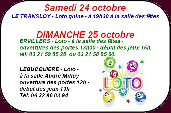 Lotos 24 octobre