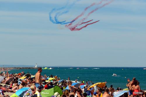 Barcarès: la plage envahie! n 1