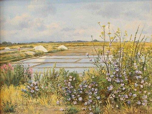 Peinture de : Jean-Paul BARRE