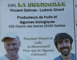 Travail à l'EARL La Grenouille (Salettes - 26)