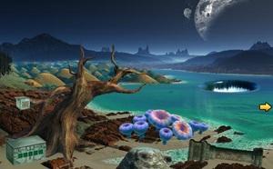 Jouer à Escape game - Fantasy alien planet