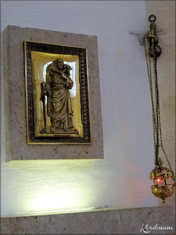 Intérieur de la chapelle Saint Vincent de Paul