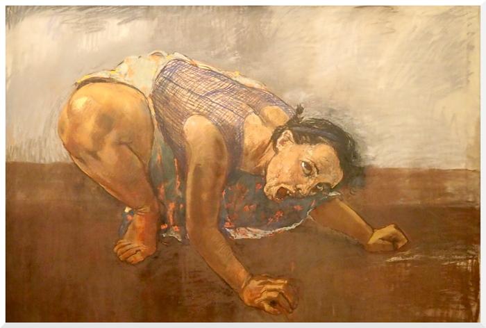 Exposition de Paula Rego au Musée de l'Orangerie. Paris