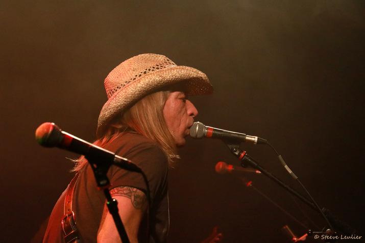 Zak Perry au concert de Laura Cox au Trabendo