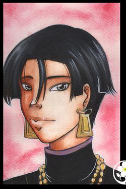 Les Personnages  de la jeune Geisha et la Mort