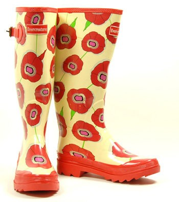 Mules ? Non, Wellington boots ! - ladies-wellies-300 - www.funky-wellington-boots.co.uk
