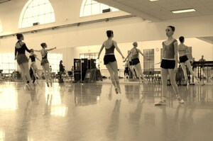 dance ballet class pointes boston ballet