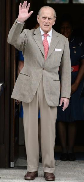 Le prince Philip est sorti