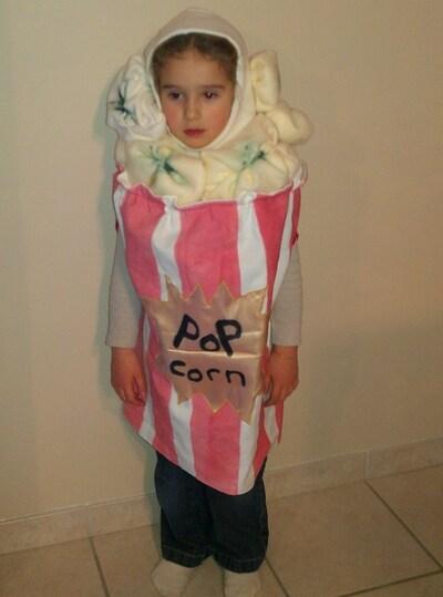 Projet déguisement pop corn #2...