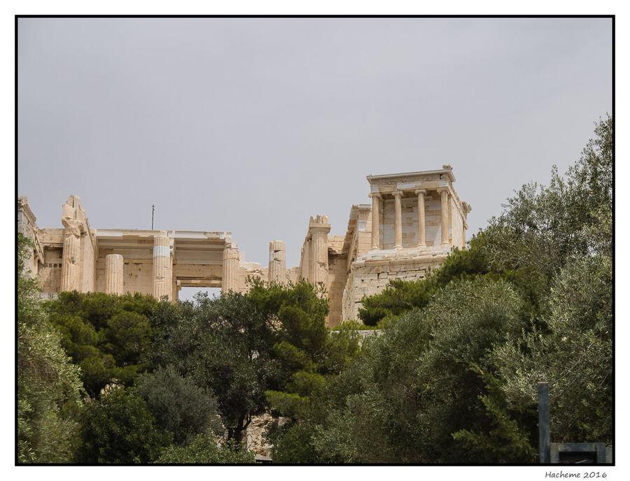 Temple d'Athena Nike et Propylées