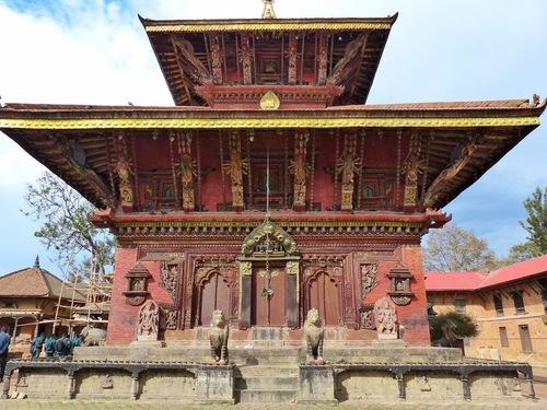Bhaktapur; un des plus beaux temples;