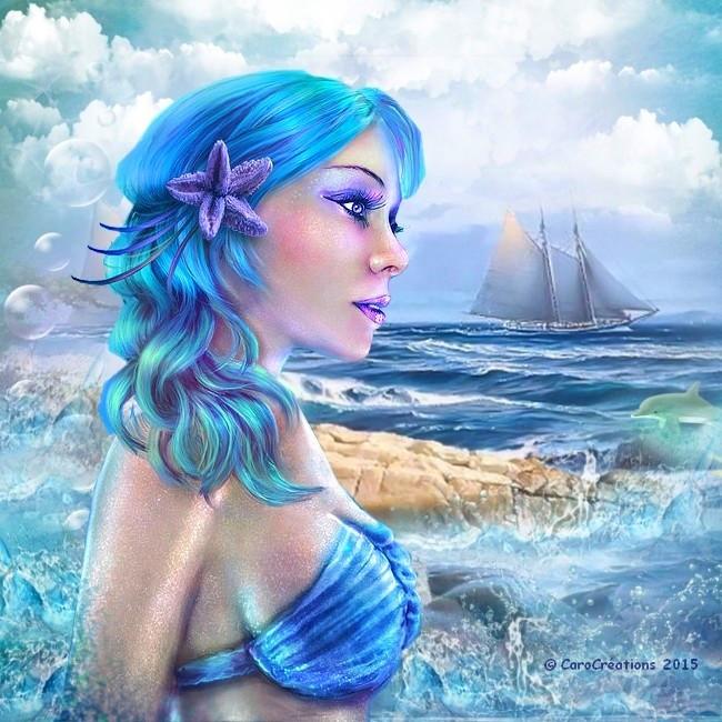 la sirène de l'océan